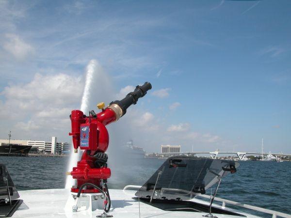 Canhão monitor para combate a incêndio