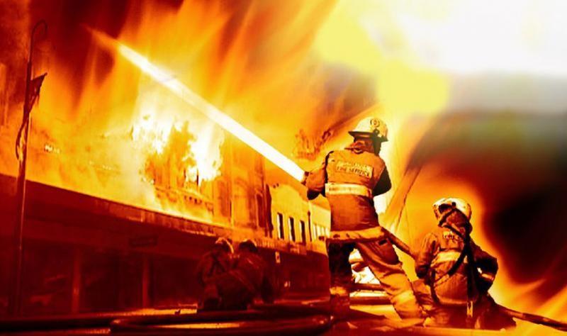 Esguichos de combate a incêndio