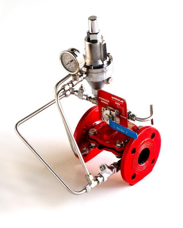 Válvula hidráulica para incêndio