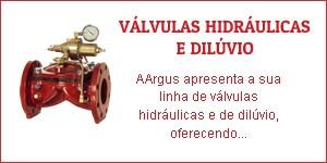 Válvulas hidráulicas e dilúvio
