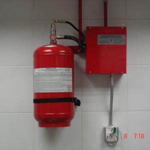 Equipamentos contra incendio