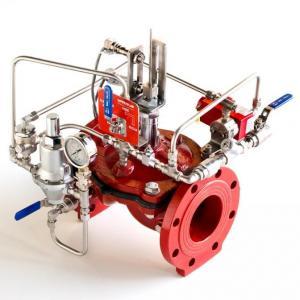 Válvula hidraulica para incendio